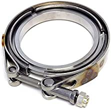Precision Turbo V-Band Outlet Clamp for Pro Mod Turbine Housing