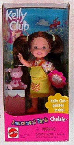 Barbie Kelly AMUSEMENT PARK CHELSIE Doll w Bear (2000)