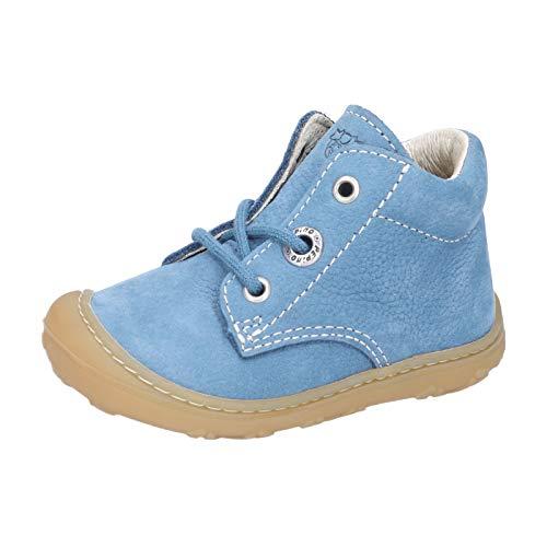 RICOSTA Unisex - Kinder Boots Cory von Pepino, Weite: Weit (WMS),lose Einlage,terracare,schnürstiefelchen,Booties,Jeans (141),24 EU / 7 Child UK