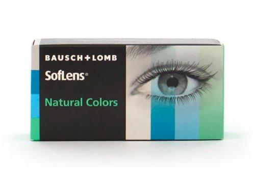 Soflens Natural Colors Platinum (Dioptrien: -2.00 / Radius: 8.70 / Durchmesser: 14.00 / Farbe: Platinum)