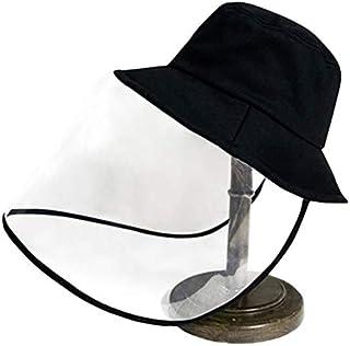 XIHAMA Anti-Saliva Protective Cap Windproof Full Face Shields Anti-dust Head Protector Stylish Fisherman Hat (Kids)