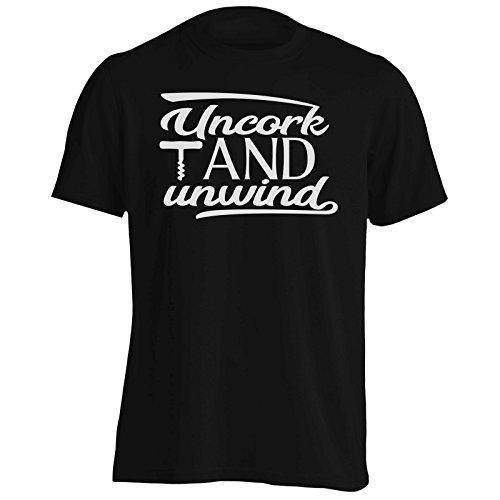 INNOGLEN Descorchar Y Desenrollar Camiseta de los Hombres s424m