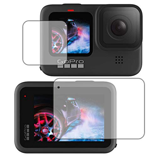 PDA工房 GoPro HERO9 Black Crystal Shield 保護 フィルム [メイン/サブ用] 光沢 日本製