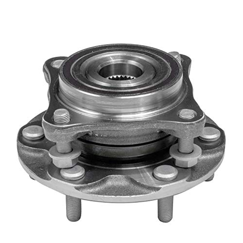 TUCAREST 515040 Front Wheel Bearing and Hub Assembly Compatible 2010-2016 Lexus GX460 03-09 GX470 05-15 Toyota Tacoma 03-16 4Runner 07-14 FJ Cruisers [4WD 4x4 AWD 6 Lug W/ABS]