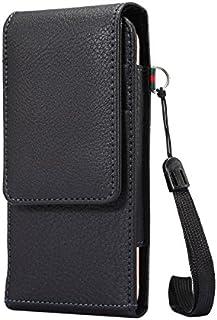 Newtree スマホ ベルトケース スマホ ベルトホルダー ウエストポーチ レザースマホケース スマートフォンケース スマホ ポーチメンズ 4.8インチまで機種適用 iphone8/iphone7/Iphone6/Samsung S4/S3