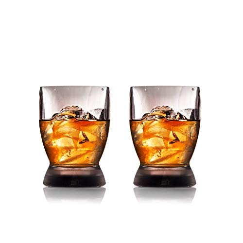 Mighty Mug Barware: Set of 2 15 oz Double Old Fashioned/Stemless Wine Glasses.