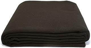 Anti-Tarnish Silver Cloth - Pre-cut by the Yard - Brown (2 Yards by 58