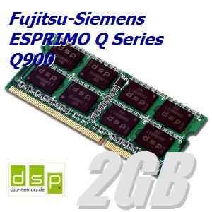 DSP Memory 2GB Speicher/RAM für Fujitsu-Siemens ESPRIMO Q Series Q900