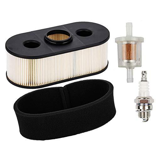 JJDD Vervanging 11013-7031 Luchtfilter met Pre Filter Brandstof Filter Spark Plug Tune Up Kit voor Kawasaki FH580V FH381V FH430V grasmaaier