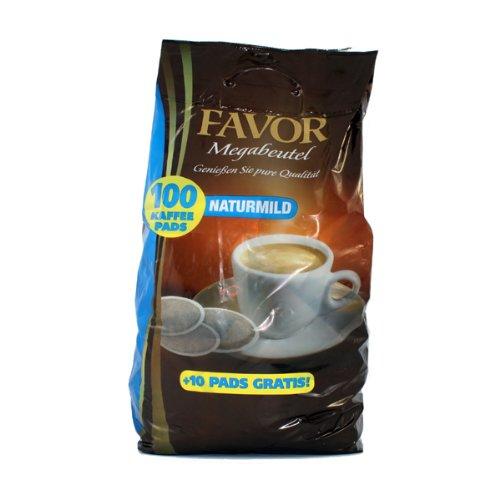Favor Milde Röstung KaffeePads Megabeutel 100 Stuck