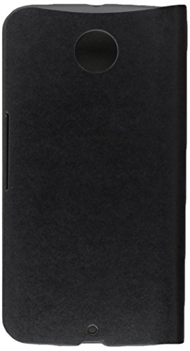Google Nexus 6 Case - Poetic Google Nexus 6 Case [FlipBook Series] - [Lightweight] [Professional] PU Leather Protective Flip Cover Case for Google Nexus 6 Black (3 Year Manufacturer Warranty From Poetic)