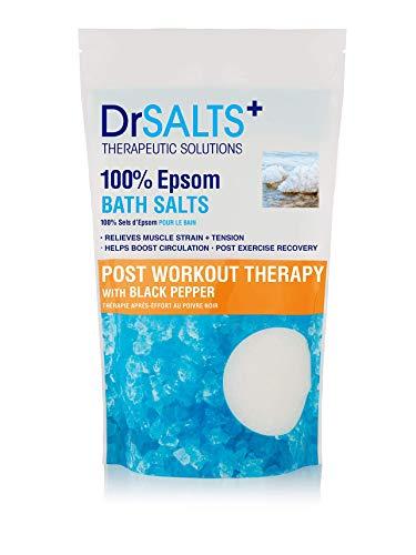Dr SALTS Epsom Bad Nacharbeit Therapie mit verjüngendem schwarzen Pfeffer, 1 kg