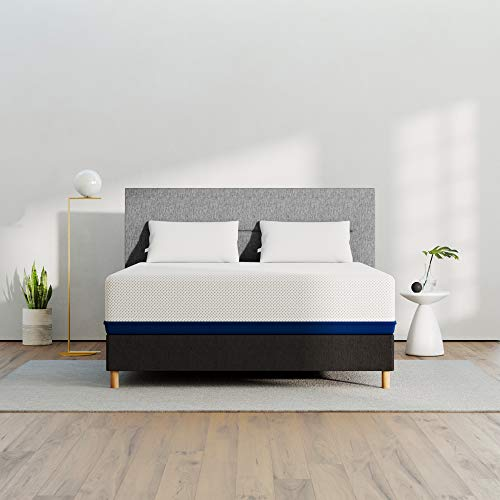 AMERISLEEP AS5 Memory Foam Mattress - Twin (Soft) - Bed in a Box | Celliant Cover | Bio-Pur Plant Based Material | Cooler Than Memory Foam | USA