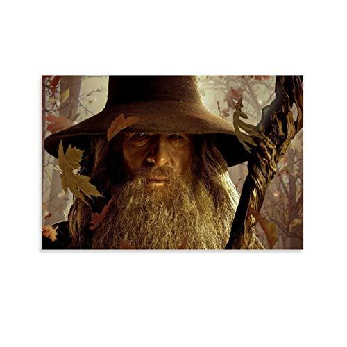DRAGON VINES Poster / Poster, Motiv: Der Herr der Ringe Hobbit Gandalf, 20 x 30 cm