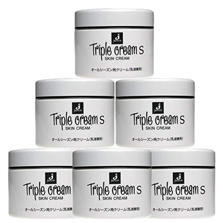 内陸重なるデコレーションジュモン化粧品 トリプルクリームS 215g(6個セット)