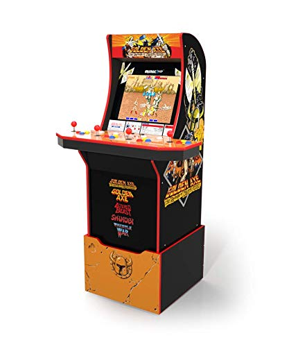 Arcade1Up Golden Axe Home Arcade Machine, 5 Games In 1, 4 Foot Cabinet with 1 Foot Riser - Electronic Games
