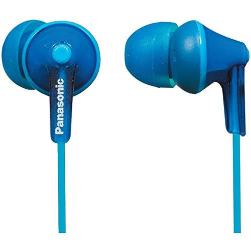 PANASONIC RP-HJE125-A HJE125 ErgoFit in-Ear Earbuds (Blue) Consumer Electronics