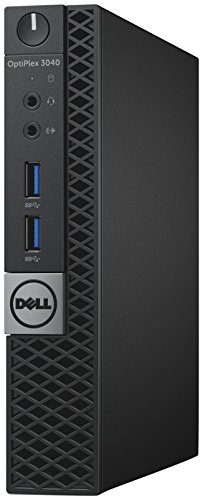 Dell OptiPlex 3040 Micro Desktop PC Core i5 (6500T) 2.5GHz 4GB 128GB SSD WLAN BT Windows 10 Pro (HD Graphics 530)