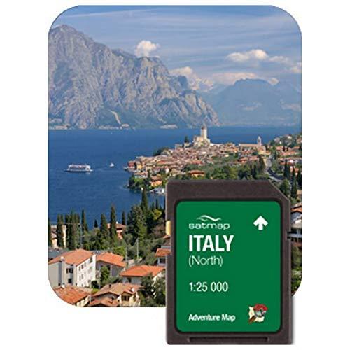 Satmap mapcard : Italie du Nord Carte Aventure 25 K