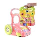 FASSTUREF Baby Walker Verhindern Rollover Multifunktions Musik Kind Balance Auto Trolley 6-24 Monate...