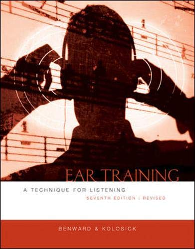 Ear Training: A Technique for Listening, Revised Edition