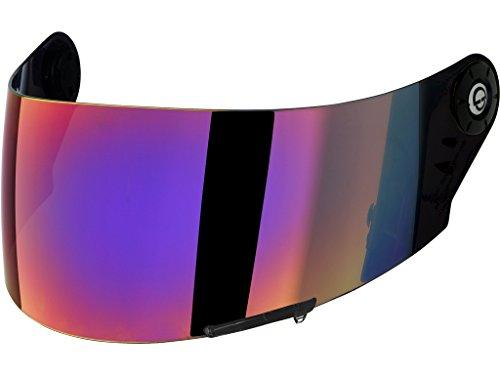 Schuberth SR1 Visier Tear-Off vorbereitet, Farbe iridium verspiegelt, Größe one-size