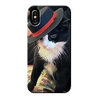 AQUOS sense4 lite SH-RM15 ケース 猫 にゃんこ キャット ペット ネコ 薄型 スマホ ハードケース ねこ E アクオス C005602_05
