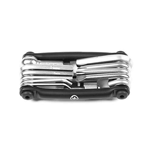 SALTPLUS BMX Flip Multitool Werkzeugset | schwarz-Silber