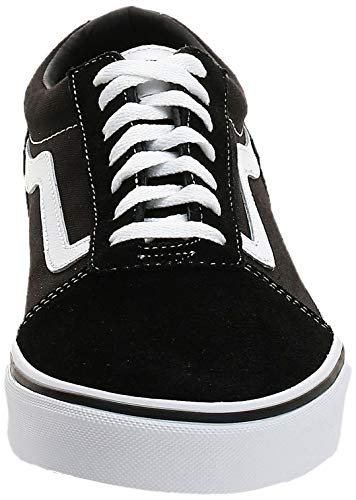 Vans Ward Suede/Canvas, Sneaker Uomo, Black White Car C4R, 42 EU
