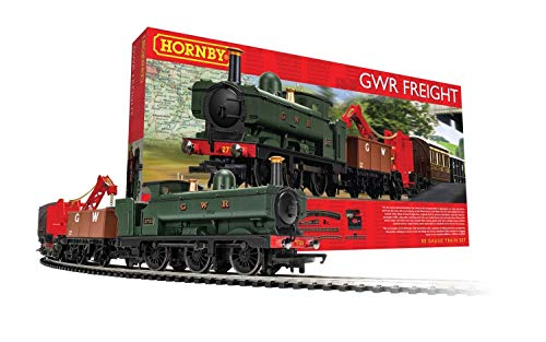 Hornby R1254M GWR Freight Train Set - Analogue