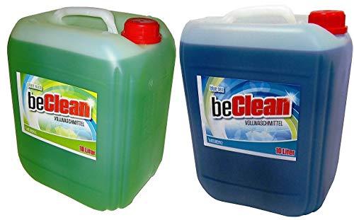 Flüssigwaschmittel 10l blue sea und 10l green wash