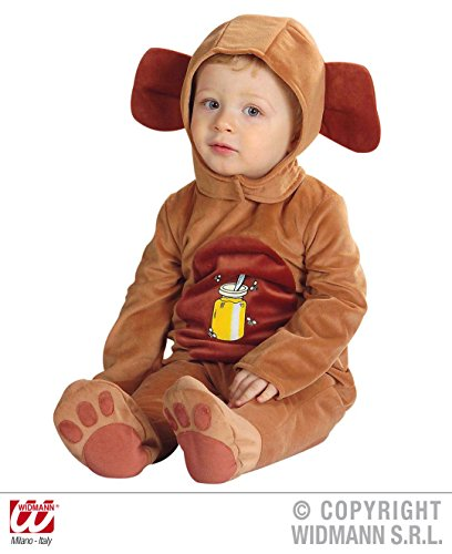 WIDMANN- Costume Orso Neonato, Colore Marrone, Taglia Unica, SA-2753B