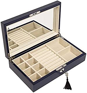 Brouk and Co. - High-Gloss Jewelry Box - Navy