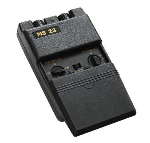 Nature Gates TENS Maschine MS23, 2-Kanal, analog, klein, leicht, einfache Bedienung