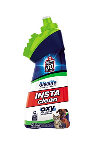 BISSELL Woolite InstaClean Pet with Brush Head Cleaner, 1740, 18 fl. oz.