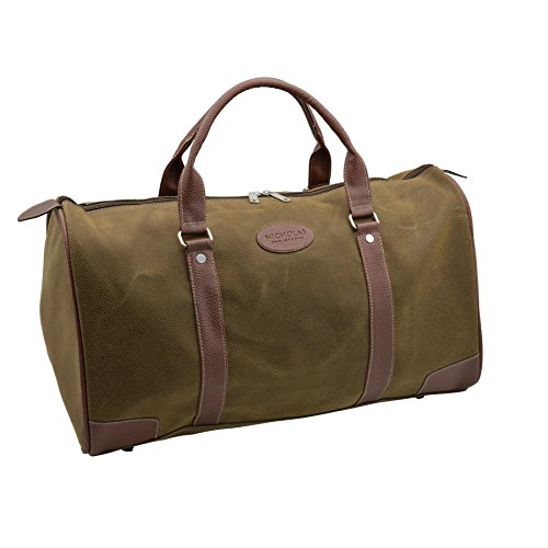 Nicholas Winter Men's Overnight Weekend Travel Holdall Duffel Bag