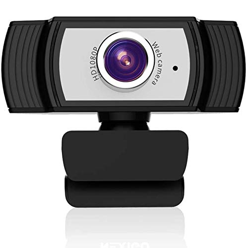 ANTZZON HD 1080P web cam: USB computer camera & webcam with microphone for desktop laptop streaming   video Conference Compatible - Zoom   Skype   Facetime   Youtube