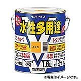 【サンデーペイント】水性多用途 0.7L ライトカーキー 1ケース(6個入り)