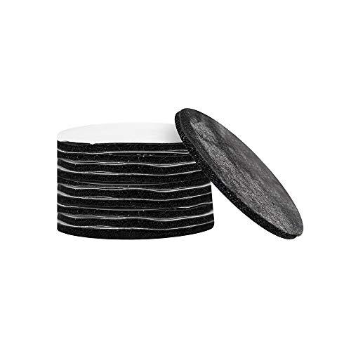 Sofá Fijador Antideslizante Antideslizante Seguro Sin Agujas Alfombrilla para el hogar Asiento Cojín de la Hoja Broche Pasta Artefacto Velcro (5 Piezas)