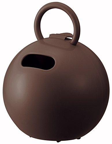 like-it ティッシュ ケース ポイッとボール (トイレットペーパー対応) ブラウン 幅16.3x奥16.3x高20.8cm PRP-03