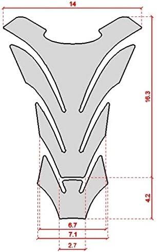 Adesivo 3d Protezione 04 Paraserbatoio Compatibile Con Moto Suzuki Gsx-r