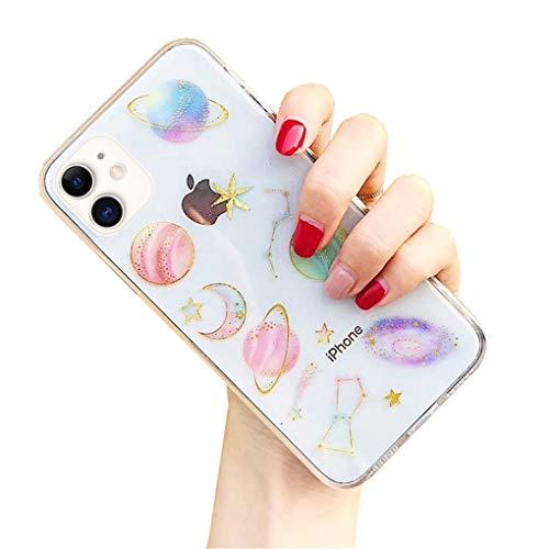 LPZOOOM Hülle Kompatibel iPhone 11, Hülle iPhone 11, Ultra Dünn Silikon Weich Elegant Mode Chic Muster Handyhülle, Stoßfest Staubschutz, Anti-Kratz Harte Schale Schutzhülle Hülle Cover für iPhone 11