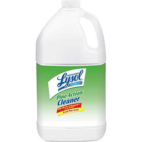 Lysol - 02814CT Professional Pine Action Cleaner, Concentrate, 4gal (4X1gal)