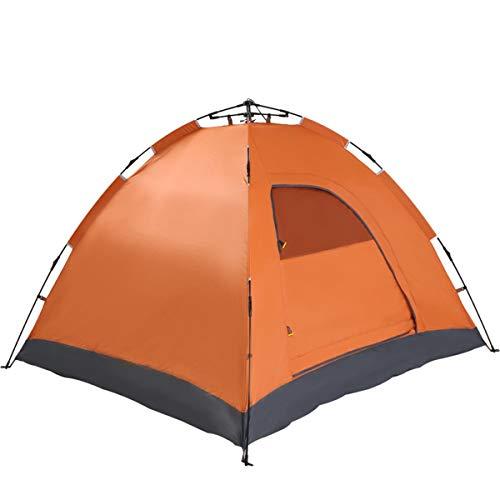 CCF-OZ 3-4 Personen Camping Tent Eenlaags Dubbeldeurs Outdoor Automatische Tent Vrij van Ademende Verdikking Regendichte Tent Outdoor Camping Apparatuur
