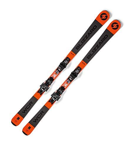 Blizzard Erwachsene WCR Ski, Schwarz Orange, 153cm