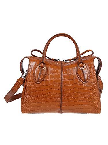 Tod's Luxury Fashion Damen XBWANYH0300MKCG807 Braun Leder Handtaschen   Herbst Winter 19