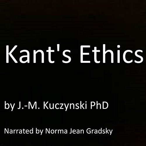 Kant's Ethics  By  cover art