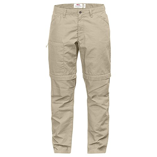 FJÄLLRÄVEN Damen High Coast Trousers Zip-Off W Lange Hose, Limestone, 44