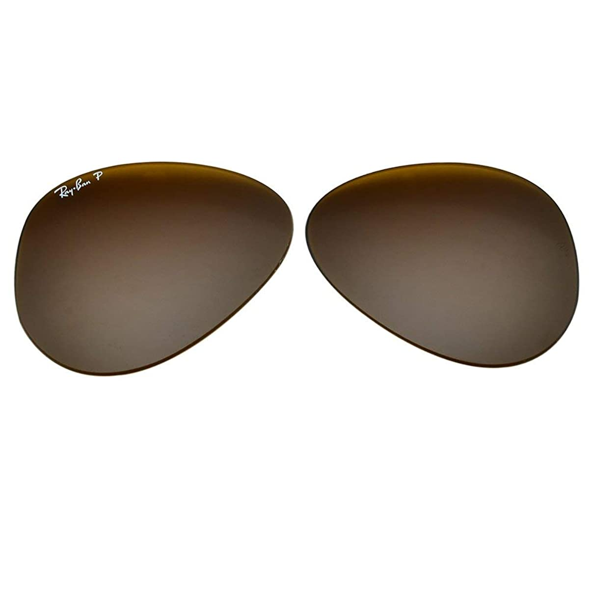 Ray-Ban Replacement Polarized Lenses for RB3025 Brown Polarized 58-14