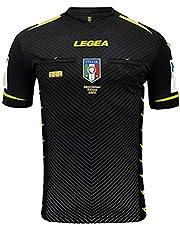 LEGEA 2020/2021 scheidsrechtershirt AIA M/C, heren, zwart, XL